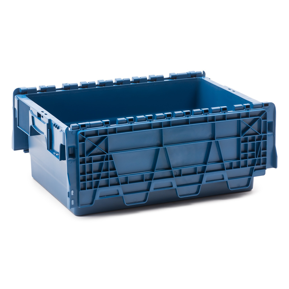 Caja pl stica industrial integra 40 x 60 x 25 cm ref spkm 250 for Cajas de plastico para guardar ropa