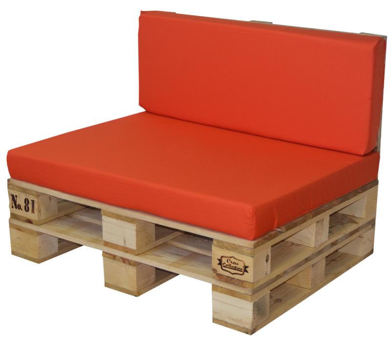Conjunto sof palet madera y coj n 100x80cm ref s9p80100 for Conjunto de sofas para exterior
