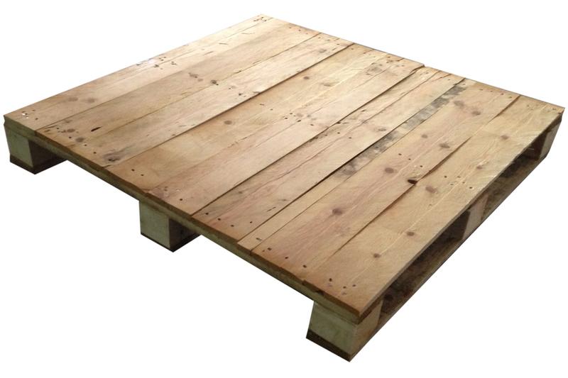 Palet para mobiliario 100x100 for Medidas de palets de madera